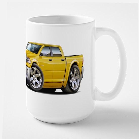 Ram Yellow Dual Cab Large Mug