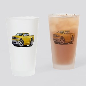 Ram Yellow Dual Cab Drinking Glass