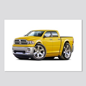 Ram Yellow Dual Cab Postcards (Package of 8)