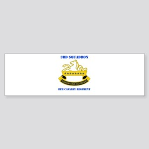DUI - 3rd Sqdrn - 8th Cavalry Regt with Text Stick