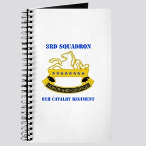 DUI - 3rd Sqdrn - 8th Cavalry Regt with Text Journ