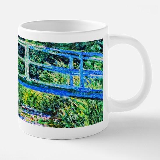 Monet - Water Lily Pond 20 oz Ceramic Mega Mug