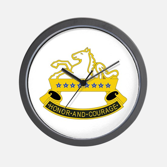 DUI - 3rd Sqdrn - 8th Cavalry Regt Wall Clock