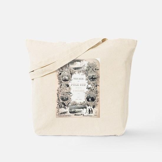Victorian South Pole Explorer Tote Bag