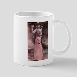 Vintage Bellydancer Pink Mug