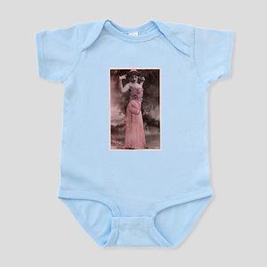 Vintage Bellydancer Pink Infant Bodysuit