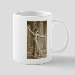 Vintage Cabaret Bellydancer Mug