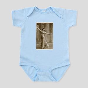 Vintage Cabaret Bellydancer Infant Bodysuit