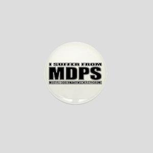 Doberman Pinscher Mini Button