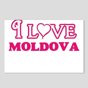 I love Moldova Postcards (Package of 8)