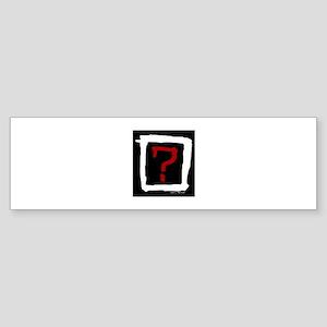 Where Is The Love? Sticker (Bumper)