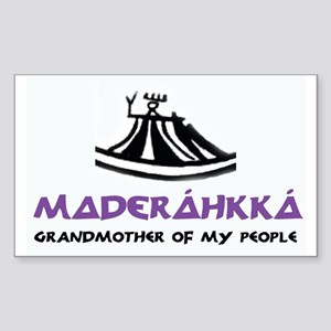 MADERÁHKKÁ: Grandmother Sticker (Rectangle)