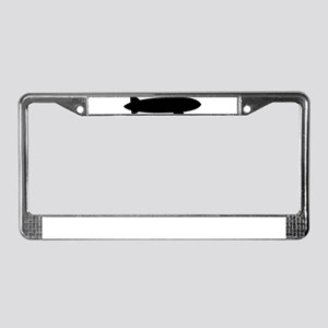 Airship dirigible License Plate Frame