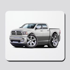 Ram White-Grey Dual Cab Mousepad