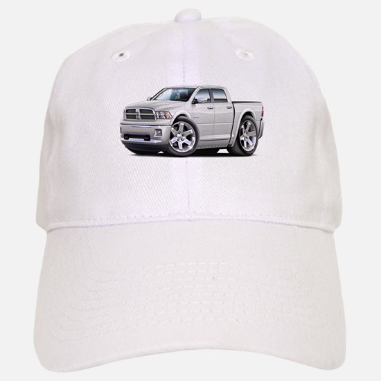 Ram White Dual Cab Baseball Baseball Cap