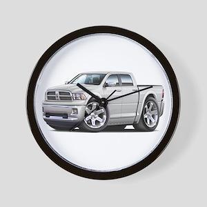 Ram White Dual Cab Wall Clock