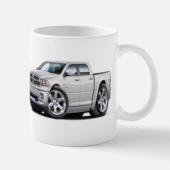 Ram White Dual Cab Mug