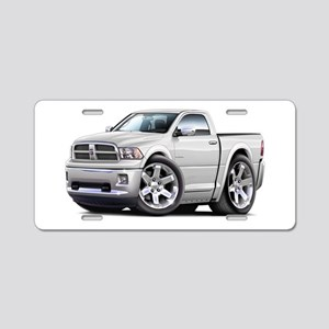Ram White Cab Aluminum License Plate