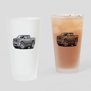 Ram Silver Dual Cab Drinking Glass