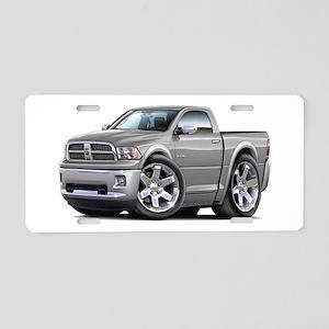 Ram Silver Truck Aluminum License Plate