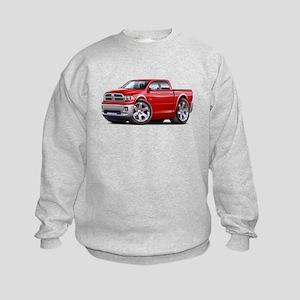 Ram Red Dual Cab Kids Sweatshirt