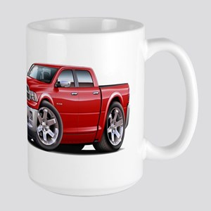 Ram Red Dual Cab Large Mug