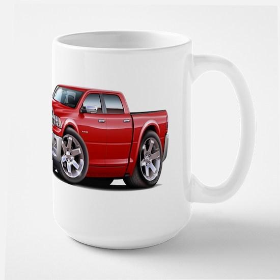 Ram Red Dual Cab Large Mug