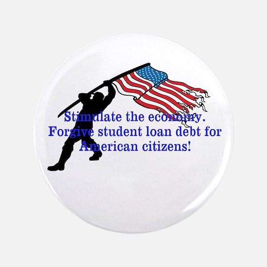 Forgive student loan debt button