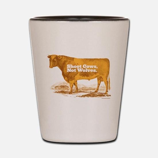 Shoot Cows Shot Glass
