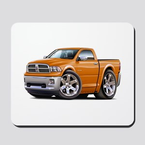 Ram Orange Truck Mousepad