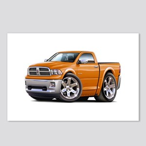 Ram Orange Truck Postcards (Package of 8)
