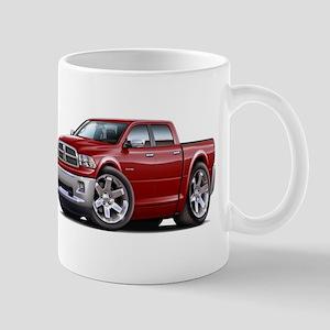 Ram Maroon Dual Cab Mug