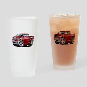 Ram Maroon Dual Cab Drinking Glass