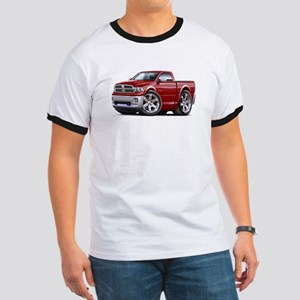 Ram Maroon Truck Ringer T