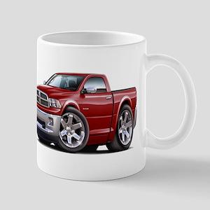 Ram Maroon Truck Mug