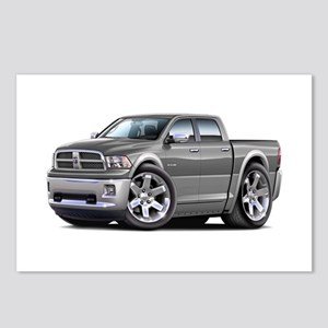 Ram Grey-Silver Dual Cab Postcards (Package of 8)