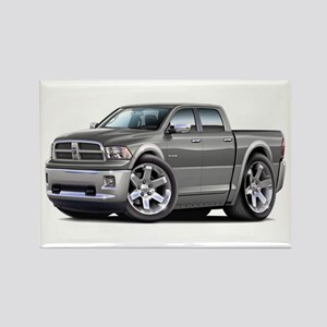Ram Grey-Silver Dual Cab Rectangle Magnet