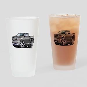 Ram Grey Truck Drinking Glass