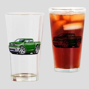 Ram Green Dual Cab Drinking Glass