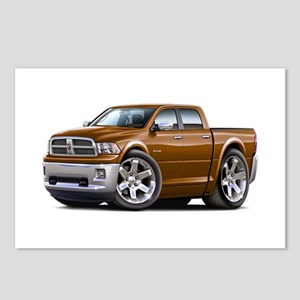 Ram Brown Dual Cab Postcards (Package of 8)
