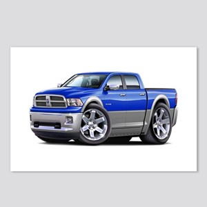 Ram Blue-Grey Dual Cab Postcards (Package of 8)