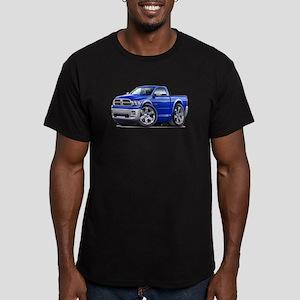 Ram Blue Truck Men's Fitted T-Shirt (dark)