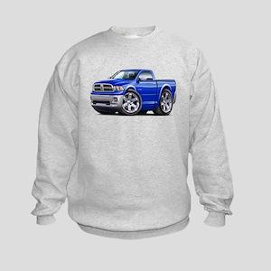 Ram Blue Truck Kids Sweatshirt