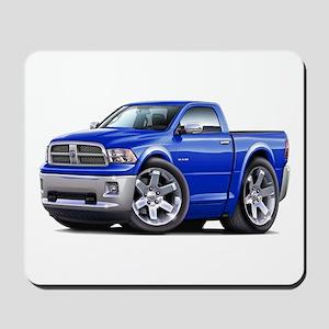 Ram Blue Truck Mousepad