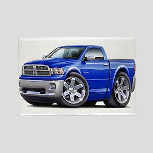 Ram Blue Truck Rectangle Magnet