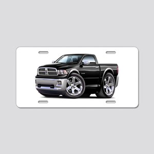 Ram Black Truck Aluminum License Plate