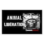 Animal Liberation 5 - Sticker (Rectangle)