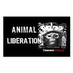Animal Liberation 5 - Sticker (Rectangle)