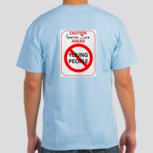 Young People Prohibited Light T-Shirt