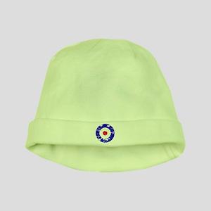 Vintage Mod Target Baby Hats - CafePress 88c0613708d